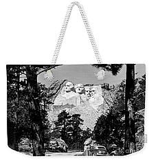 Mt Rushmore Weekender Tote Bag by American School