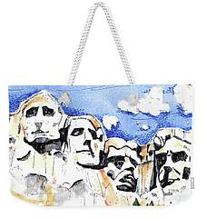 Mt. Rushmore, Usa Weekender Tote Bag