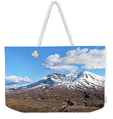 Weekender Tote Bag featuring the photograph Mt Saint Helens by Robert Bellomy