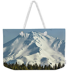 Mt Shasta In Early Morning Light Weekender Tote Bag