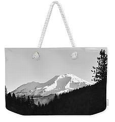 Mt Shasta Weekender Tote Bag