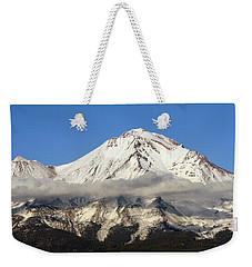 Mt. Shasta Summit Weekender Tote Bag