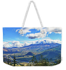 M.t St. Helens And The Toutle River Weekender Tote Bag