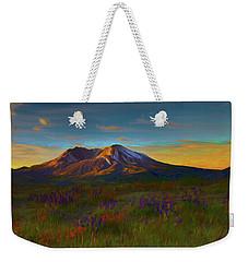 Mt. St. Helens Sunrise Weekender Tote Bag