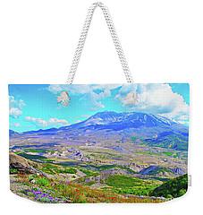 Mt. St. Helens Wildflowers Weekender Tote Bag