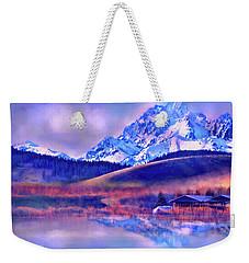 Mt. Stuart Weekender Tote Bag