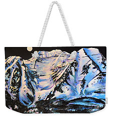 Mt. Timpanogos Under A Full Moon Weekender Tote Bag
