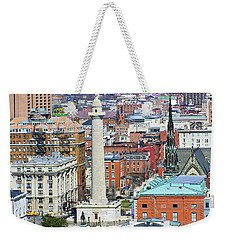 Mt Vernon - Baltimore Weekender Tote Bag by Brian Wallace