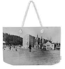 Weekender Tote Bag featuring the photograph Mt. Washington Church  by Cole Thompson