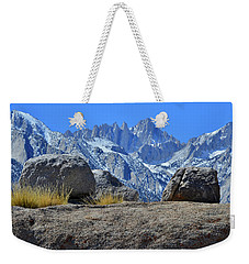 Mt. Whitney - Highest Point In The Lower 48 States Weekender Tote Bag