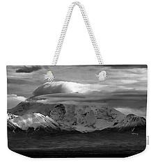 Mt Wrangell Weekender Tote Bag