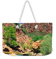 Mt.moroni / Virgin River Weekender Tote Bag