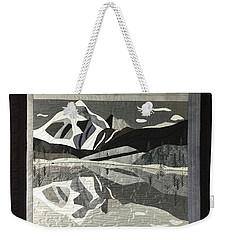 Mt.shuksan In Gray Weekender Tote Bag