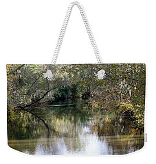 Weekender Tote Bag featuring the photograph Muckalee Creek by Jerry Battle