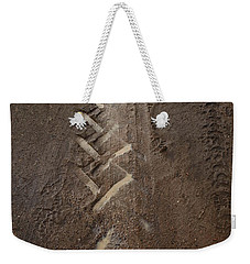 Weekender Tote Bag featuring the photograph Mud Escape by Stephen Mitchell