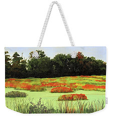 Mud Lake Marsh Weekender Tote Bag