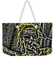 Mud Singer Weekender Tote Bag
