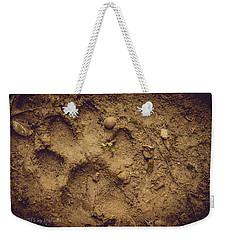Muddy Pup Weekender Tote Bag by Stefanie Silva