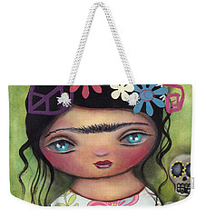 Muertos Fest Weekender Tote Bag by Abril Andrade Griffith