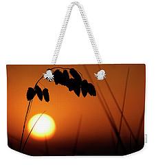 Weekender Tote Bag featuring the photograph Mug - Sunset by Inge Riis McDonald