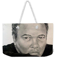 Muhammad Ali Formerly Known As Cassius Clay Weekender Tote Bag by Jim Fitzpatrick