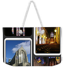 Weekender Tote Bag featuring the photograph Muhlenberg College Egner Memorial Chapel by Jacqueline M Lewis