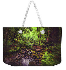 Weekender Tote Bag featuring the photograph Muir Woods No. 3 by Laura DAddona