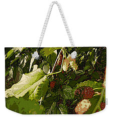 Mulberry Moment Weekender Tote Bag