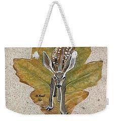 Mule Dear Fawn Weekender Tote Bag
