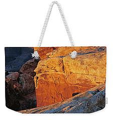 Muley Point Sunrise-v Weekender Tote Bag