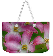 Weekender Tote Bag featuring the photograph Mulligan by Skip Tribby