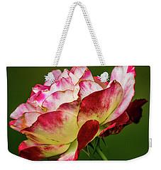 Multi-colored Rose Weekender Tote Bag