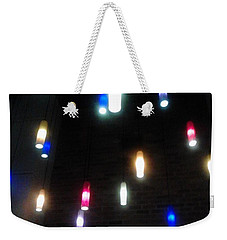 Multi Colored Lights Weekender Tote Bag