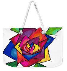 Multi Rose Weekender Tote Bag