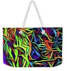 Multi Waves Weekender Tote Bag by Gayle Price Thomas