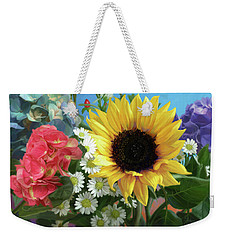 Multicolor Flowers Weekender Tote Bag