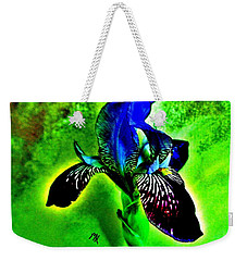 Multicolor Iris Weekender Tote Bag