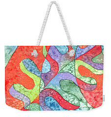Multicolor Oak Leaf Weekender Tote Bag