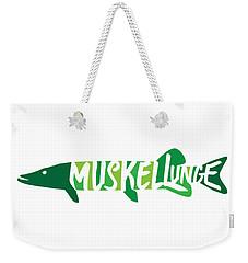 Multicolored Muskellunge Weekender Tote Bag