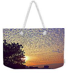 Multicoloured Sky Weekender Tote Bag