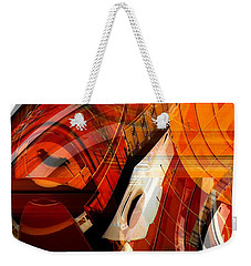 Multidimensional  Weekender Tote Bag by Thibault Toussaint