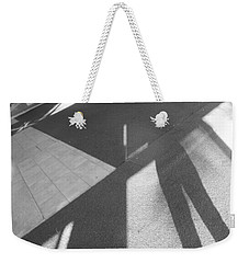 Weekender Tote Bag featuring the photograph Multidimensional Viewpoint by Esther Newman-Cohen