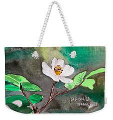 Multiflora Rosa Weekender Tote Bag