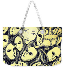 Multiple Personalities Weekender Tote Bag by Paulo Zerbato