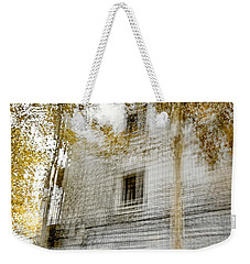 Weekender Tote Bag featuring the photograph Multiplex Fall by Linde Townsend