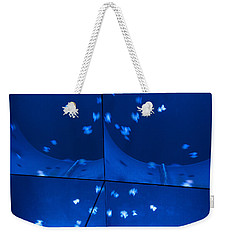 Multiplication - Jellyfish Weekender Tote Bag by Menega Sabidussi