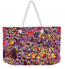 Multiply Microbiology Landscapes Series Weekender Tote Bag by Emily McLaughlin