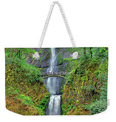 Multnomah Falls 2  Weekender Tote Bag