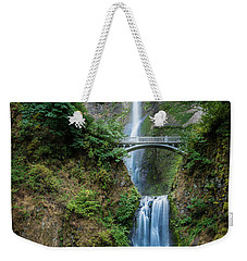 Multnomah Falls Weekender Tote Bag by Chris McKenna