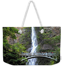 Multnomah Falls, Columbia River Gorge Weekender Tote Bag by Greg Sigrist